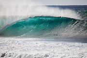 Big Wave with Offshore Winds