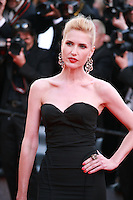 Judit Masco at the The Homesman gala screening red carpet at the 67th Cannes Film Festival France. Sunday 18th May 2014 in Cannes Film Festival, France.