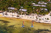 Aerial View, Cheeca Resort and Lodge, Islamorada Key, Florida Keys, Florida USA