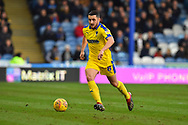 Anthony Hartigan (8) of AFC Wimbledon on the attack during the EFL Sky Bet League 1 match between Portsmouth and AFC Wimbledon at Fratton Park, Portsmouth, England on 1 January 2019.