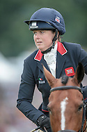 Pippa Funnell during the final jumping event at Bramham International Horse Trials 2016 at  at Bramham Park, Bramham, United Kingdom on 12 June 2016. Photo by Mark P Doherty.