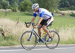 23.07.2014, Drnis, CRO, FIS Weltcup Ski Alpin, Ivica Kostelic Training, im Bild Alpine skier Ivica Kostelic is finishing first leg of preparations for the next season in Dalmatinska Zagora by riding a bicycle. // during a summer trainings session of FIS Ski Alpine skier Ivica Kostelic at Drnis, Croatia on 2014/07/23. EXPA Pictures © 2014, PhotoCredit: EXPA/ Pixsell/ Dusko Jaramaz<br /> <br /> *****ATTENTION - for AUT, SLO, SUI, SWE, ITA, FRA only*****