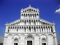 Pisa's Cathedral, from the baptistery, Tuscany, Italy. 2nd July, 2011..©Pic : Michael Schofield.
