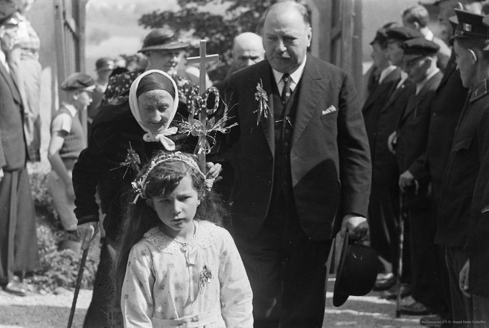 Procession, Diamond Wedding Anniversary, Leonstein, Austria, 1937