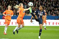 Marie Laure Delie - 28.03.2015 - Paris Saint Germain / Glasgow City FC - 1/2 Finale retour Champions League<br /> Photo : Andre Ferreira / Icon Sport
