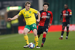 Oliver Skipp of Norwich City- Mandatory by-line: Phil Chaplin/JMP - 28/11/2020 - FOOTBALL - Carrow Road - Norwich, England - Norwich City v Coventry City - Sky Bet Championship