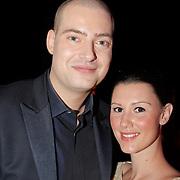 NLD/Hilversum/20120205 - Concert tbv Stichting DON, Lange Frans Frederiks en partner Danielle van Aalderen