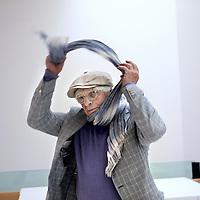 Nederland, Amsterdam , 9 mei 2014.<br /> Schrijver, socioloog en emeritus hoogleraar Abram de Swaan.<br /> Writer, sociologist and emeritus professor Abram de Swaan.