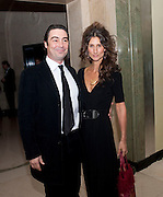 Nathaniel Parker ;  wife Anna PatricK, The cartier Racing Awards hosted by Arnaud Bamberger and the hon Harry Herbert. Claridges. London. 17 November 2009.