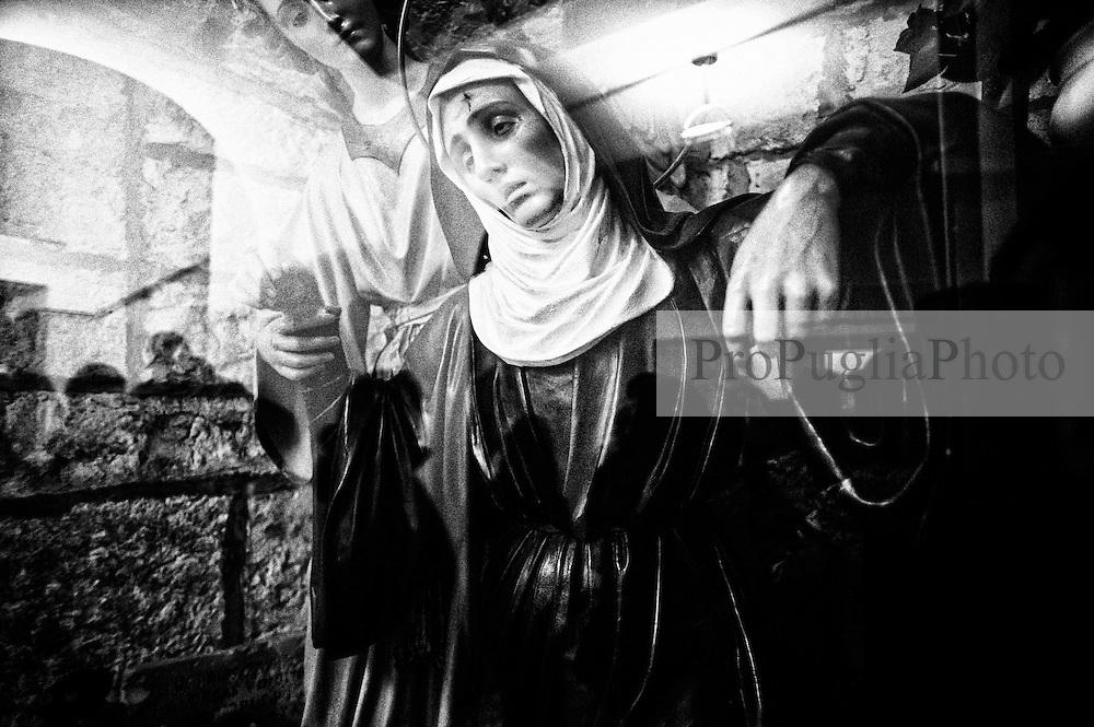 Noicattaro - Giovedi Santo. Commemorazione della Madonna.