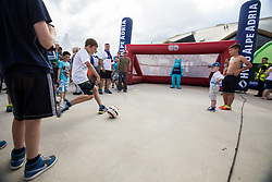 Kids playing soccer before the EURO 2016 Qualifier Group E match between Slovenia and England at SRC Stozice on June 14, 2015 in Ljubljana, Slovenia. Photo by Grega Valancic