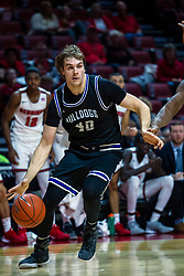 NORMAL, IL - October 23: Cade McKnight during a college basketball game between the ISU Redbirds and the Truman State Bulldogs on October 23 2019 at Redbird Arena in Normal, IL. (Photo by Alan Look)