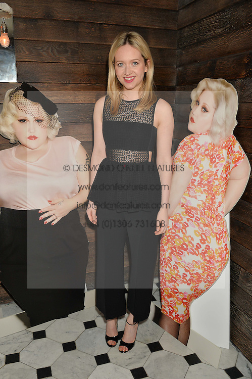 CAMILLA ELPHICK at a party to celebrate the launch of the Beth Ditto Clothing Line held at The London Edition, Berners Street, London on 18th February 2016.