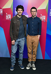 Colin Morgan and Simon Amstell attending the Benjamin Premiere as part of the BFI London Film Festival at BFI in London.