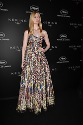 Elle Fanning attending the Kering Women In Motion dinner during 72nd Cannes Film Festival in Cannes, France on May 19, 2019. Photo by Julien Reynaud/APS-Medias/ABACAPRESS.COM