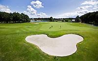 ZWOLLE - Hole 9, Golfclub Zwolle. FOTO KOEN SUYK