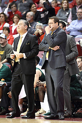 05 December 2015: Jeff Wulbrun & Jerod Haase. Illinois State Redbirds host the University of Alabama - Birmingham Blazers at Redbird Arena in Normal Illinois (Photo by Alan Look)