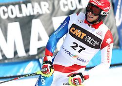 Marc Gini at 9th men's slalom race of Audi FIS Ski World Cup, Pokal Vitranc,  in Podkoren, Kranjska Gora, Slovenia, on March 1, 2009. (Photo by Vid Ponikvar / Sportida)