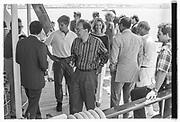 LACHLAN MURDOCH, RUPERT MURDOCH, ANNA MURDOCH, Party in the harbour on Rupert Murdoch's yacht.  Forbes weekend, TANGIER 1989