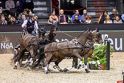 Exell Boyd, AUS, Bajnok, Demi, Barny, Rocket<br /> Jumping International de Bordeaux 2020<br /> © Hippo Foto - Dirk Caremans<br />  08/02/2020