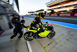 May 18, 2018 - Le Mans, France - 77 DOMINIQUE AEGERTER (CHE) KIEFER RACING (GER) KTM MOTO2 (Credit Image: © Panoramic via ZUMA Press)