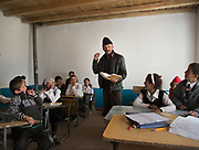 Khalifa Janob class. At the school. In Roshorv village.