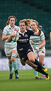 Twickenham, United Kingdom. Centre, Helena COPLEY, running through the midfield during the during the  2016 Women's Varsity Rugby, [Oxford vs Cambridge], Twickenham. UK, at the RFU Stadium, Twickenham, England, <br /> <br /> Thursday  08/12/2016<br /> <br /> [Mandatory Credit; Peter Spurrier/Intersport-images]