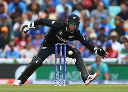 New Zealand's Tom Blundell during the ICC Cricket World Cup Warm up match at The Oval, London.