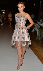 tallia storm seen at the yanita couture fashion show in paris <br /><br />4 July 2017.<br /><br />Please byline: Vantagenews.com
