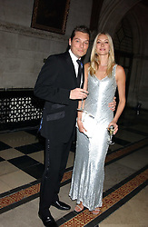 SEB & HEIDI BISHOP at Andy & Patti Wong's annual Chinese New Year party, this year celebrating the year of the dog held at The Royal Courts of Justice, The Strand, London WC2 on 28th January 2006.<br /><br />NON EXCLUSIVE - WORLD RIGHTS