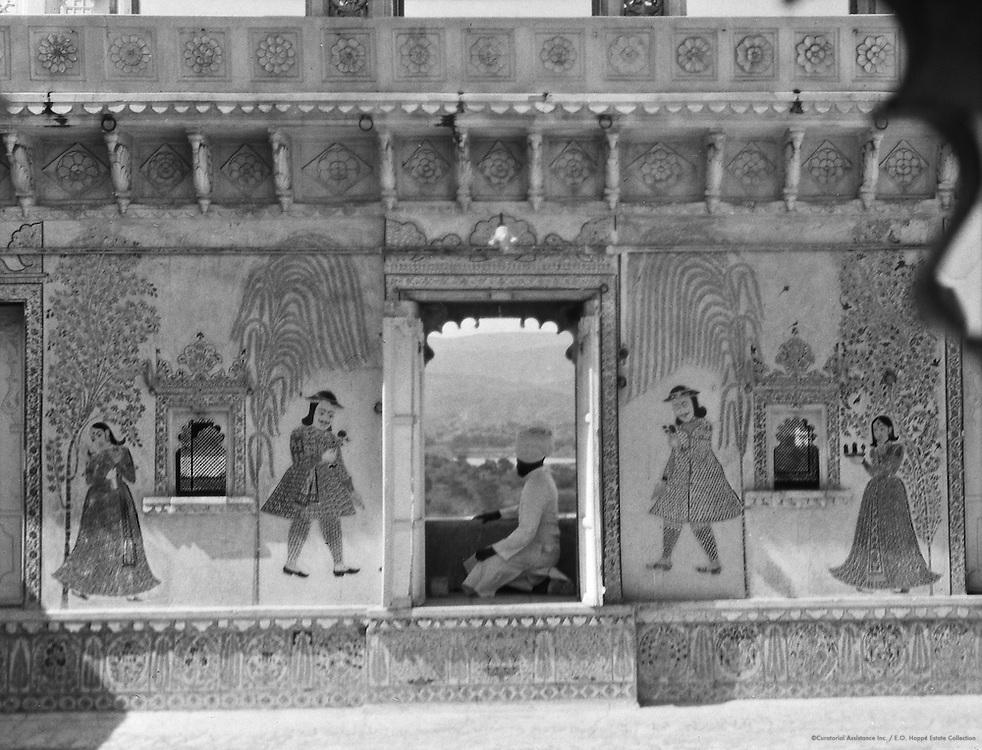Maharana's Apartment, Udaipur, India, 1929
