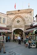 Turkey, Istanbul, Entrance to the Grand Bazaar Beyazit Gate No 7