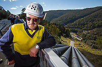 Tarraleah Hydro-Electric Power Station. Pictured is Larry McCallum. Photo By Craig Sillitoe This photograph can be used for non commercial uses with attribution. Credit: Craig Sillitoe Photography / http://www.csillitoe.com<br /> <br /> It is protected under the Creative Commons Attribution-NonCommercial-ShareAlike 4.0 International License. To view a copy of this license, visit http://creativecommons.org/licenses/by-nc-sa/4.0/. This photograph can be used for non commercial uses with attribution. Credit: Craig Sillitoe Photography / http://www.csillitoe.com<br /> <br /> It is protected under the Creative Commons Attribution-NonCommercial-ShareAlike 4.0 International License. To view a copy of this license, visit http://creativecommons.org/licenses/by-nc-sa/4.0/.
