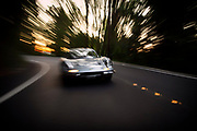 Image of a Silver Ferrari Dino 246 GTS on Mercer Island, Washington, Pacific Northwest by Randy Wells