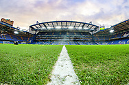 A general view inside Stamford Bridge Stadium prior to the The FA Cup fourth round match between Chelsea and Sheffield Wednesday at Stamford Bridge, London, England on 27 January 2019.