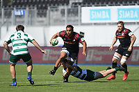 Rugby Union - 2020 / 2021 Greene King IPA Championship - Round Seven - Saracens vs Ealing Trailfinders - StoneX Stadium<br /> <br /> Saracens' Billy Vunipola in action during this afternoon's game.<br /> <br /> COLORSPORT