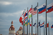 October 8-11, 2015: Russian GP 2015: Flags at the Russian Grand Prix