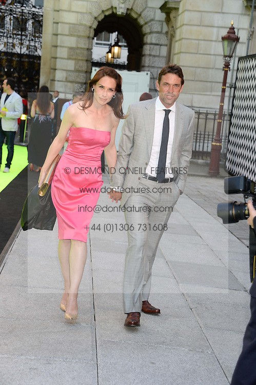 DOUGRAY SCOTT and CLAIRE FORLANI at the preview party for The Royal Academy Of Arts Summer Exhibition 2013 at Royal Academy of Arts, London on 5th June 2013.