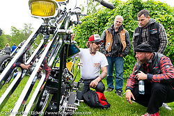 Twin Club's annual Custom Bike Show in Norrtälje, Sweden. Saturday, June 1, 2019. Photography ©2019 Michael Lichter.