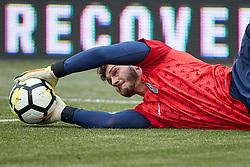 May 28, 2018 - Chester, PA, U.S. - CHESTER, PA - MAY 28: United States goalkeeper Alex Bono (22) warms up prior to the international friendly match between the United States and Bolivia at the Talen Energy Stadium on May 28, 2018 in Chester, Pennsylvania. (Photo by Robin Alam/Icon Sportswire) (Credit Image: © Robin Alam/Icon SMI via ZUMA Press)