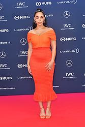 February 18, 2019 - Monaco, Monaco - Jorja Smith arriving at the 2019 Laureus World Sports Awards on February 18, 2019 in Monaco  (Credit Image: © Famous/Ace Pictures via ZUMA Press)