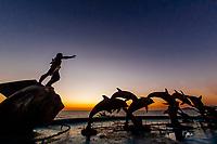 The Continuity of Life statue (La Continuidad de la Vida), the Malecon, Mazatlan, Sinaloa, Mexico