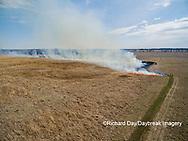 63863-02906 Prescribed Burn by IDNR Prairie Ridge State Natural Area Marion Co. IL