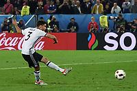 gol Jonas Hector goal<br /> Paris 02-07-2016 Parc des Princes Football Euro2016 Germany - Italy/ Germania - Italia<br /> Round of 4, Foto Matteo Gribaudi/Image Sport/ Insidefoto