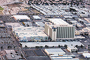 Aerial view of The Orleans Hotel, Las Vegas