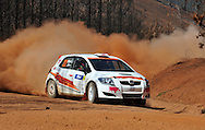 Darren WINDUS & John Allen .Toyota TRD Corolla S2000.Motorsport-Rally/2009 Forest Rally .Heat 1.4th of April 2009.Nannup, Western Australia.(C) Joel Strickland Photographics