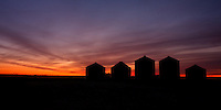East of Calgary near Carseland, AB..©2008, Sean Phillips..http://www.Sean-Phillips.com