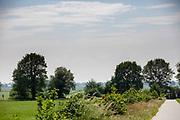 Het fietspad tussen Steenwijk en Meppel.<br /> <br /> The bike path between Steenwijk and Meppel.