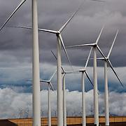 Wind farm near Klondike, Oregon on the Washington state border.