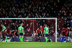 Goal, Benik Afobe of Bournemouth scores, Bournemouth 2-0 Southampton - Mandatory by-line: Jason Brown/JMP - Mobile 07966 386802 01/03/2016 - SPORT - FOOTBALL - Bournemouth, Vitality Stadium - AFC Bournemouth v Southampton - Barclays Premier League